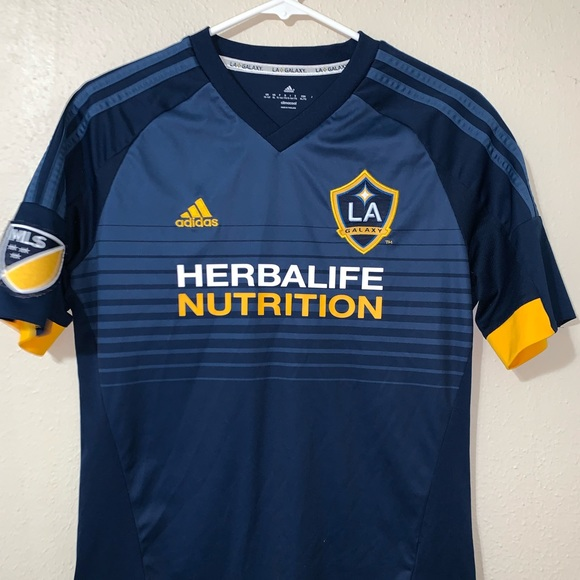 new product 81fe0 a4489 LA GALAXY AWAY AUTHENTIC JERSEY 2017-2018